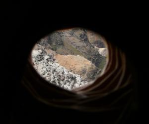 View from Oblivion Tube, Waimea Canyon.